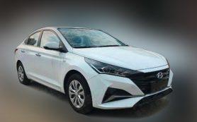 Седан Hyundai Verna вернётся на рынок Китая в новом дизайне