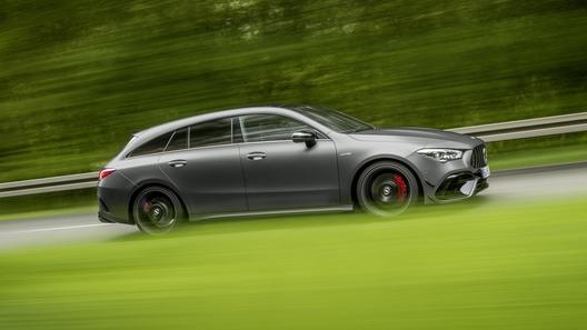 Mercedes представил очень быстрый небольшой универсал