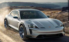 Porsche показала электромобиль Taycan