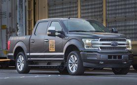 Первое испытание электропикапа Ford: протащить 454-тонный прицеп