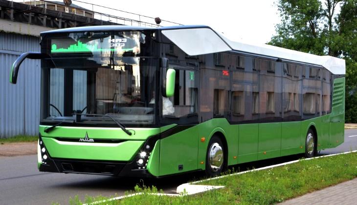 МАЗ представил автобус нового поколения с эффектным дизайном
