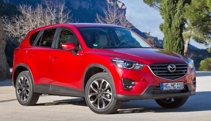 Кроссоверы Mazda CX-5 отзывают из-за дефекта сигнала аварийной остановки