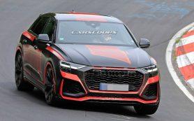 У кроссовера Audi Q8 сфотографировали без камуфляжа