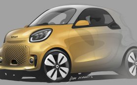 Smart показал дизайн будущих электрокаров