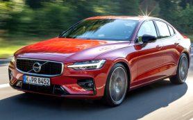 Продажи нового седана Volvo S60 начинаются в России