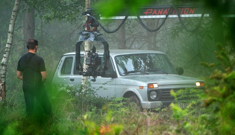«Ладу Ниву» заметили на съёмках нового голливудского блокбастера
