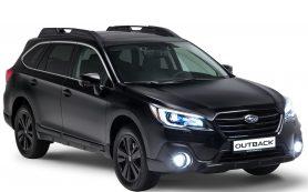 Максимально черная версия Subaru Outback выпущена специально для России