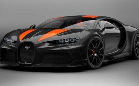Появились официальные фото серийной версии рекордного Bugatti