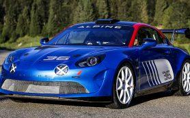 Alpine вернулась в ралли с 300-сильным гоночным купе A110