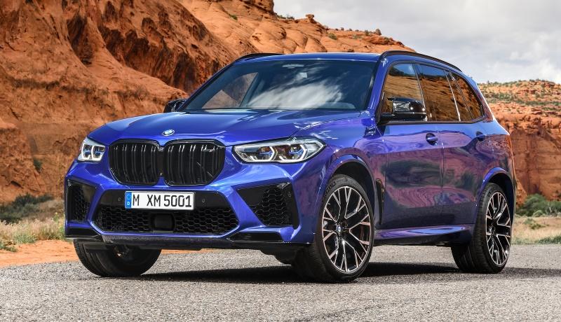 «Заряженные» кроссоверы BMW X5 M и X6 M стали ещё мощнее