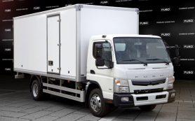 Сборку японских грузовиков Fuso Canter прекратили в России