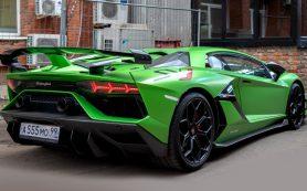 Суперкары Lamborghini Aventador отзывают в России из-за ошибки в прошивке двигателя