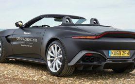 Спорткар Aston Martin Vantage лишился крыши