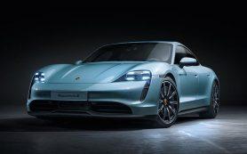 Porsche назвал российские цены на базовый Taycan