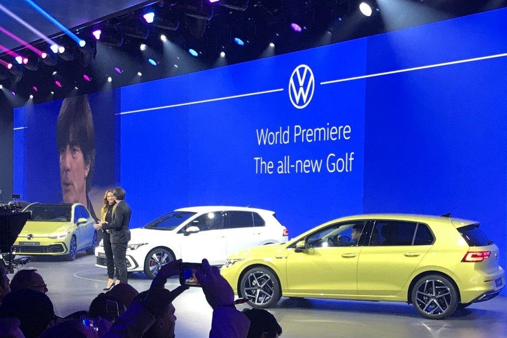 Новый Volkswagen Golf представили Джуджаро и Йоахим Лев