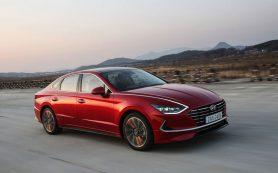 Новая Hyundai Sonata для России: два двигателя и автомат