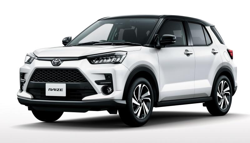 Новая Toyota Raize: мини-кроссовер с необычным вариатором