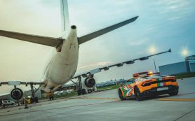 Lamborghini Huracan вновь приняли на службу в итальянский аэропорт