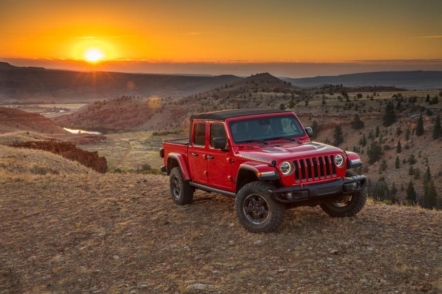 Jeep Gladiator готовится к выходу на российский рынок