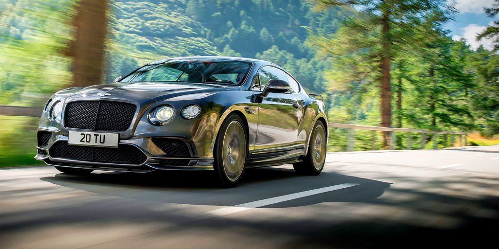 Bentley отзовет автомобили Continental в России