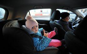 ГИБДД разрешила помечать специальным знаком автомобили с детьми