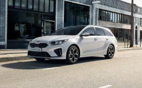 Kia начала продажи универсала и кроссовера Ceed на электричестве
