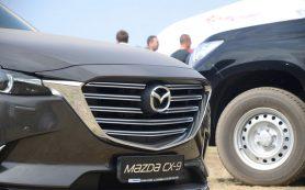 Отзывают кроссоверы Mazda CX-9: что-то не то с шинами