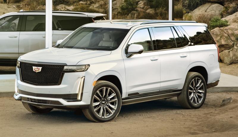 Новый Cadillac Escalade: независимая подвеска, органические светодиоды и дизель