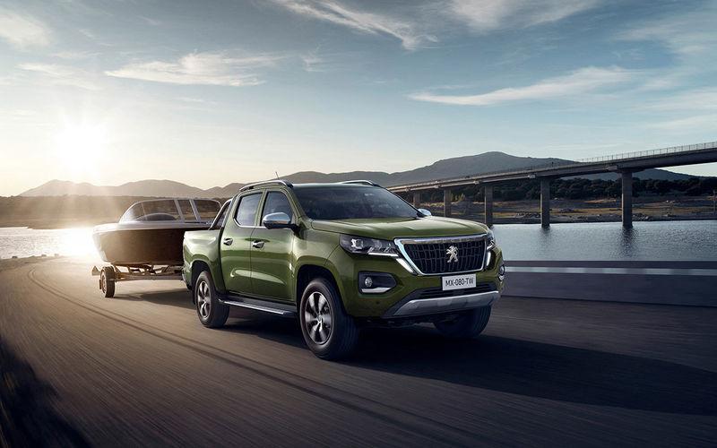 Выходит новый пикап — теперь от Peugeot
