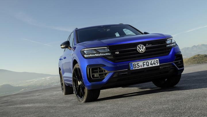 Официально представлен «заряженный» Volkswagen Touareg мощностью 462 л.с.