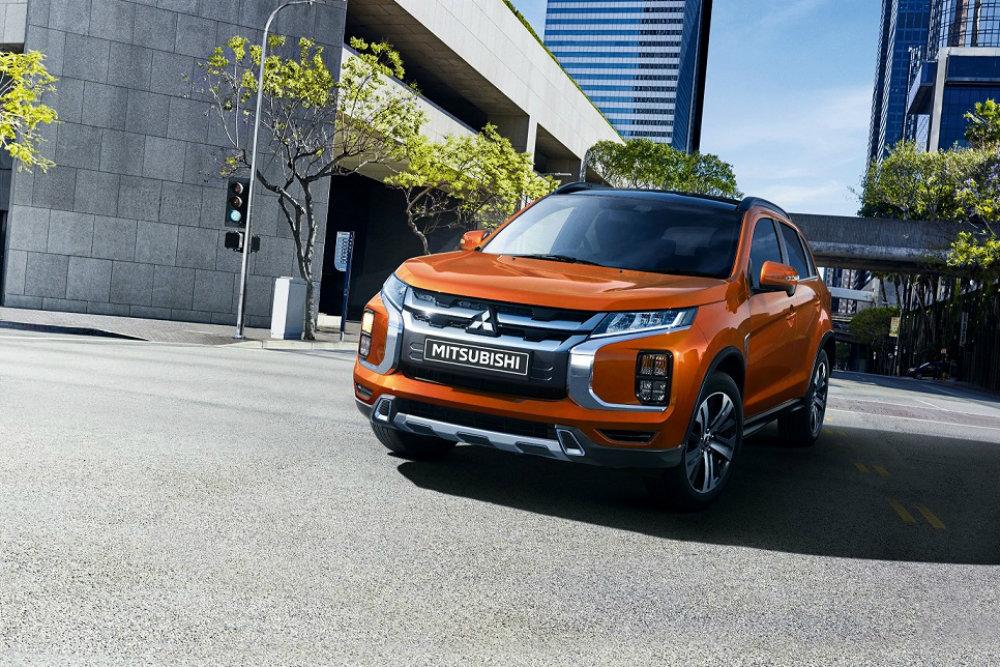Обновленный Mitsubishi ASX для России: раскрыты цены