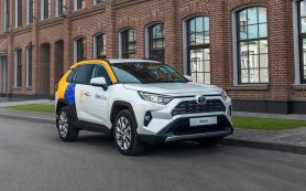 Новая Toyota RAV4 добралась до каршеринга Яндекс.Драйв