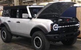 Рассекречена внешность обеих версий возрожденного Ford Bronco
