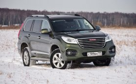 В России подешевеет китайский аналог Toyota Prado от марки Haval
