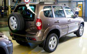 Завод, выпускающий внедорожники Chevrolet Niva, сменил название
