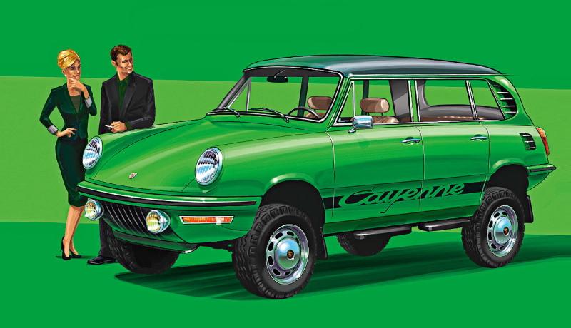 Cayenne, Pruis, Evoque и другие автомобили из прошлого, которого не было