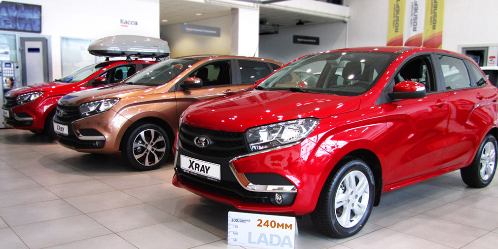Продажи автомобилей в России выросли на 23%