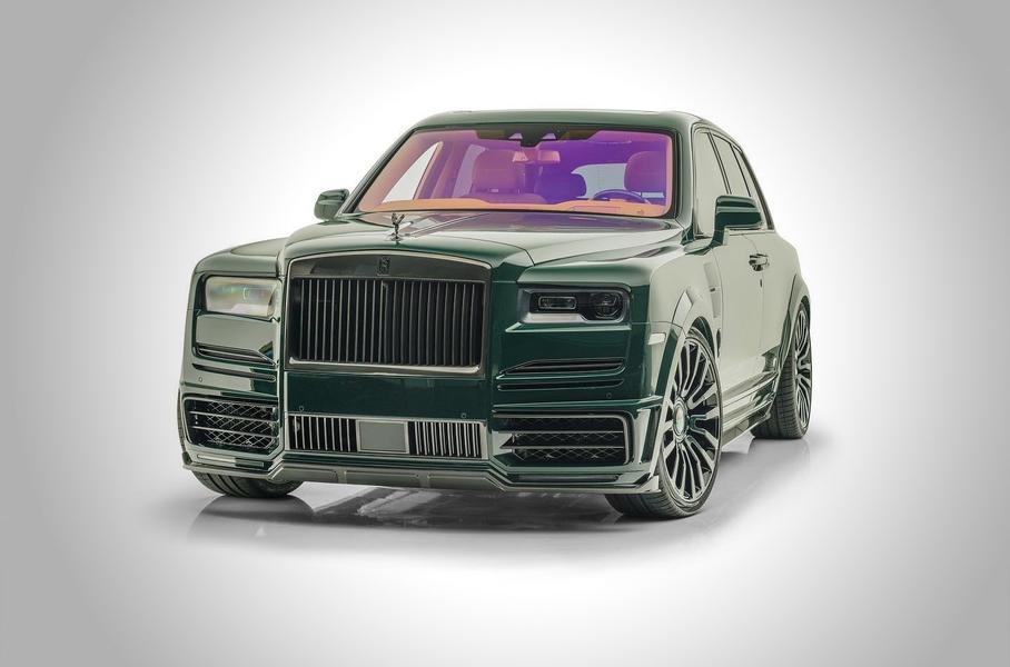 Rolls-Royce Cullinan окрасили в национальный гоночный цвет Великобритании