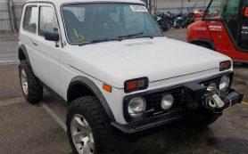 В США появилась в продаже Lada 4×4 с лебедкой и кожаным салоном