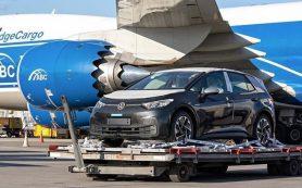 Новый электрокар Volkswagen ID.3 уже привезли в Россию