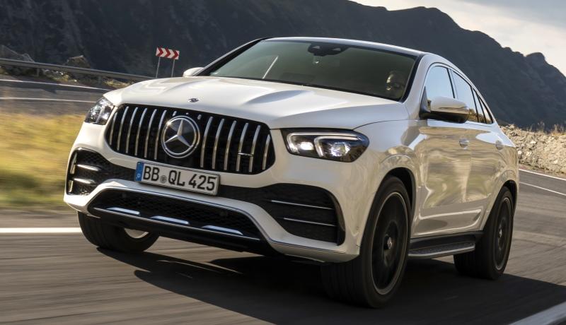 Объявлена рублёвая цена мощного кроссовера Mercedes-AMG 53 Coupe