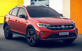Volkswagen представил кроссовер с мотором, работающим на этиловом спирте