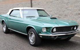 На продажу выставили один из первых кабриолетов Ford Mustang GT