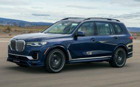 BMW X7 от Alpina получил 621-сильный мотор