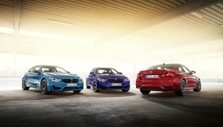 BMW привезла в Россию «горячее» купе M4 в новой спецверсии