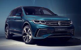 Обновлённый кроссовер Volkswagen Tiguan представлен официально