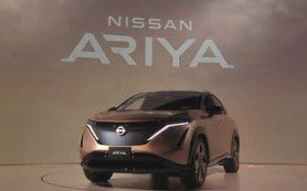 Эта Ariya прозвучит на весь мир: Nissan представил кроссовер новой эпохи
