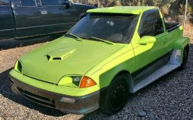 На продажу выставили уникальный пикап на базе Suzuki