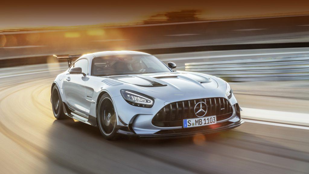 Мотор и аэродинамика выделили Mercedes-AMG GT Black Series