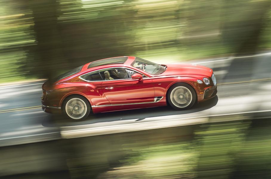 Bentley Continental GT получил новый руль